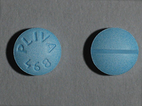 Pictures for Blue Six-sided Pill Imprint INDERAL 20 I