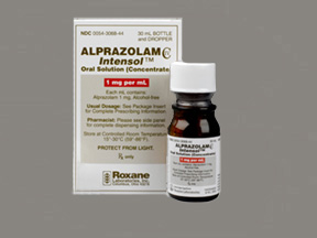 alprazolam (generic) 1 mg/ml